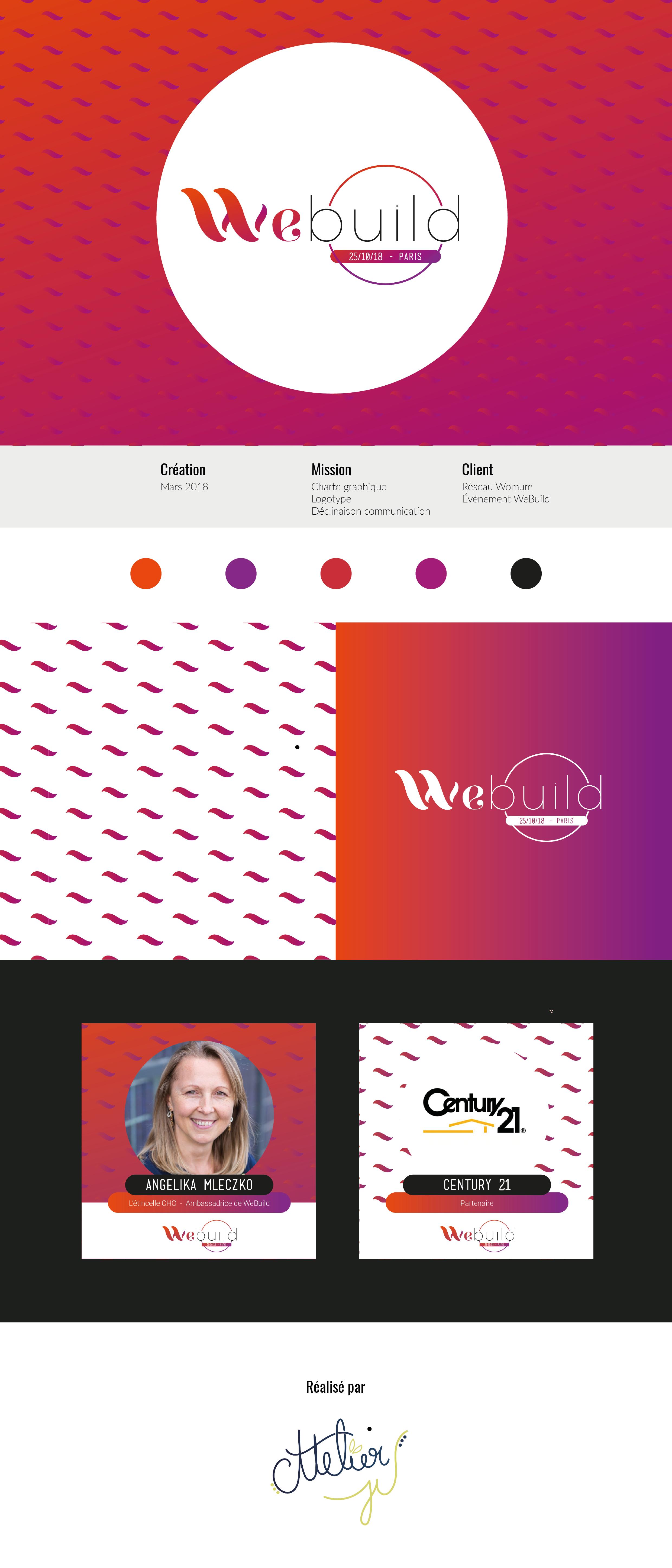 logo charte graphique webuild