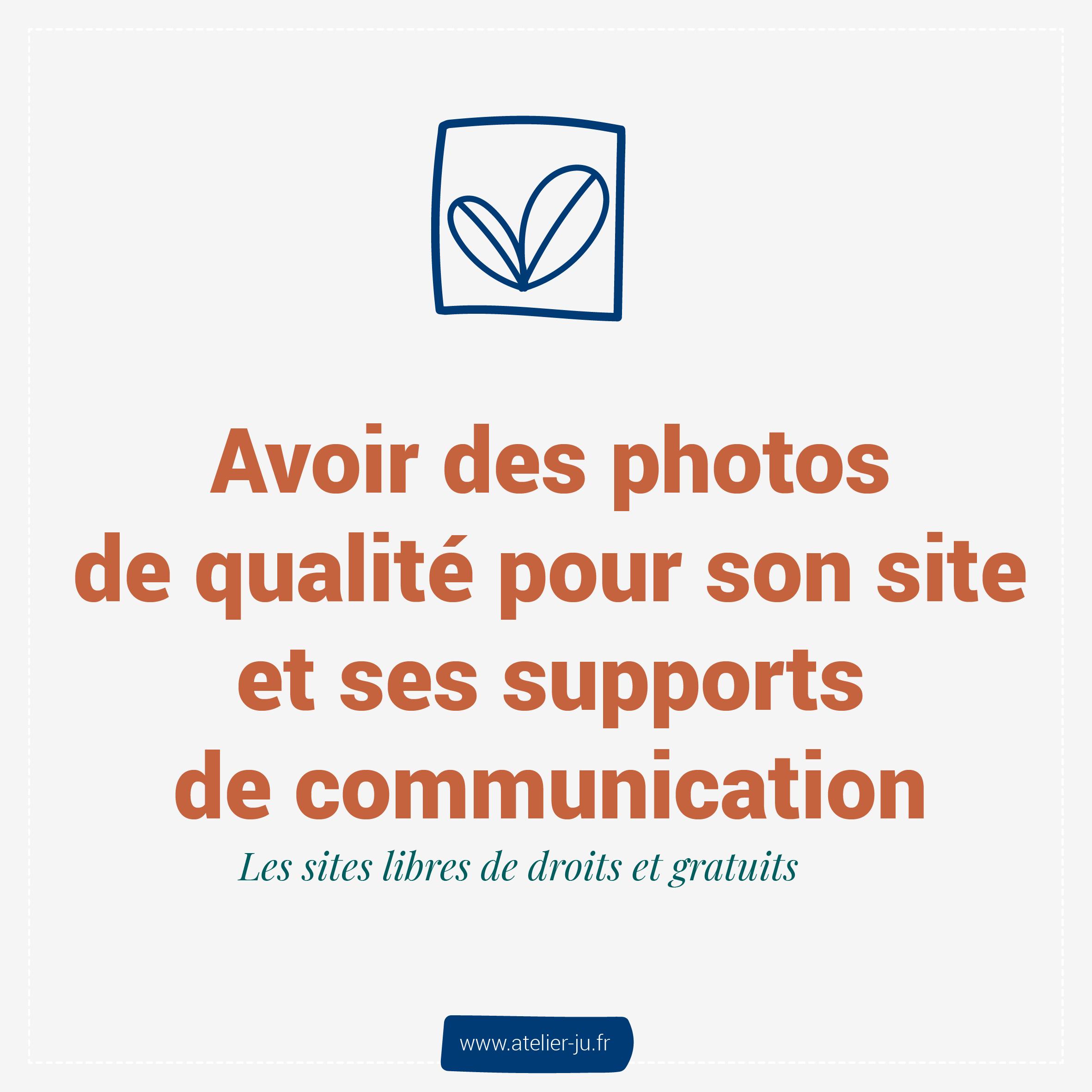 avoir des photos de qualité pour son site et ses supports de communication